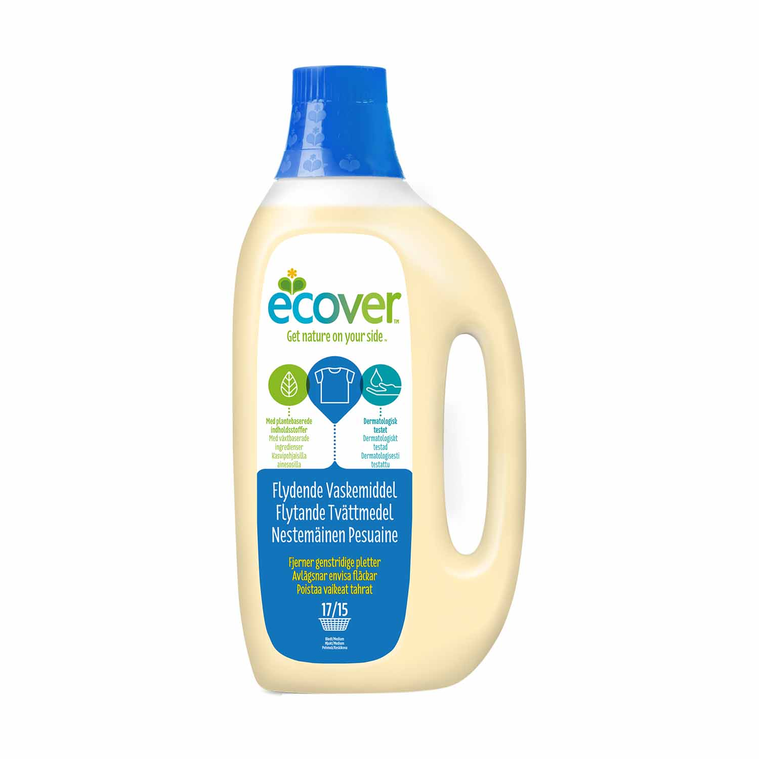 Ecover Liquid Laundry 1,5l, superfoodbutikken no